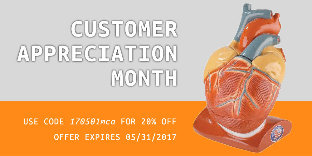 Happy Customer Appreciation Month!