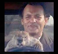Groundhog Day - the whimsy weather predictor - study a Denoyer chart instead!