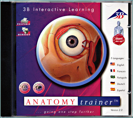 CD101 Anatomy Trainer CD-ROM