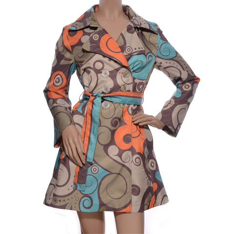PURO ARABESCO Trench Coat
