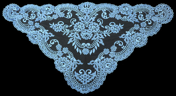 Sky Blue Mantilla - Di Clara Catholic Vestments and Gifts