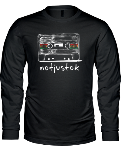 Black Notjustok Tape Long Sleeve