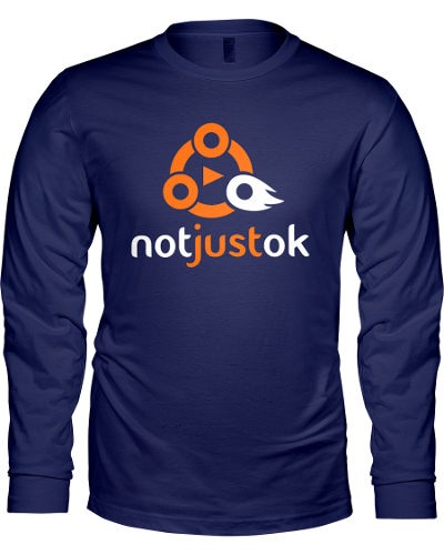 Navy Notjustok Classic Long Sleeve