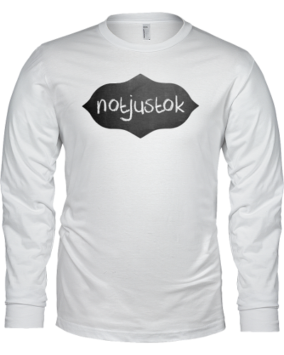 White Notjustok Chalk Board Long Sleeve