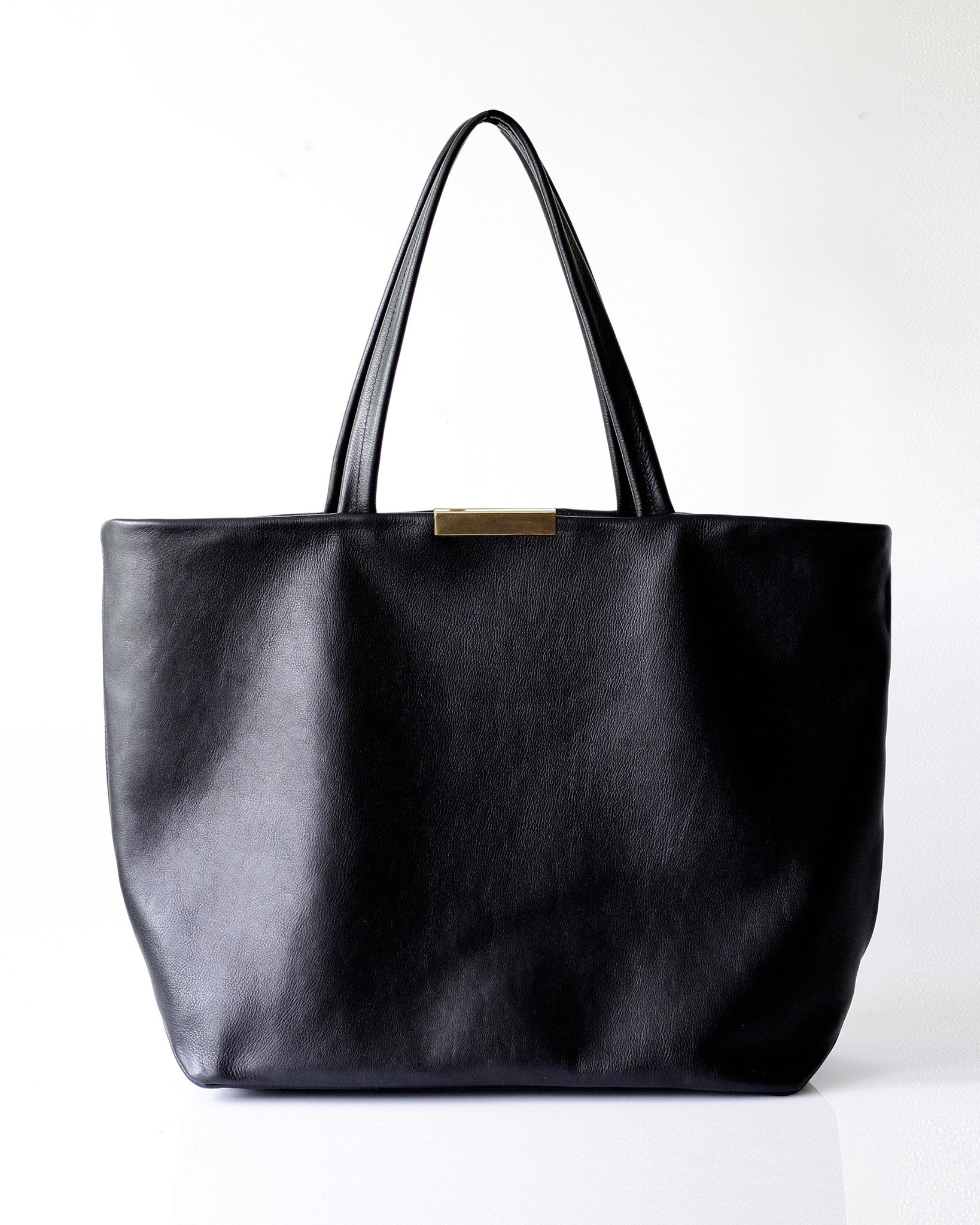 Meena Tote - Opelle bag Permanent Collection - Opelle leather handbag handcrafted leather bag toronto Canada