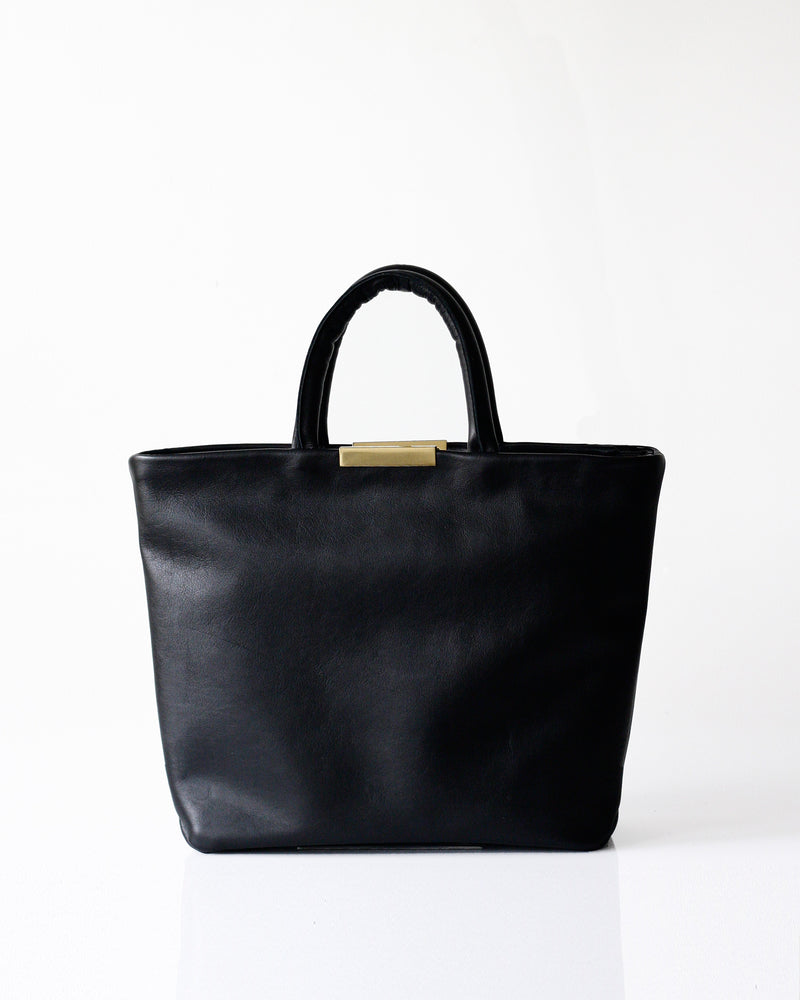 Mini Meena Tote - Opelle bag Permanent Collection - Opelle leather handbag handcrafted leather bag toronto Canada