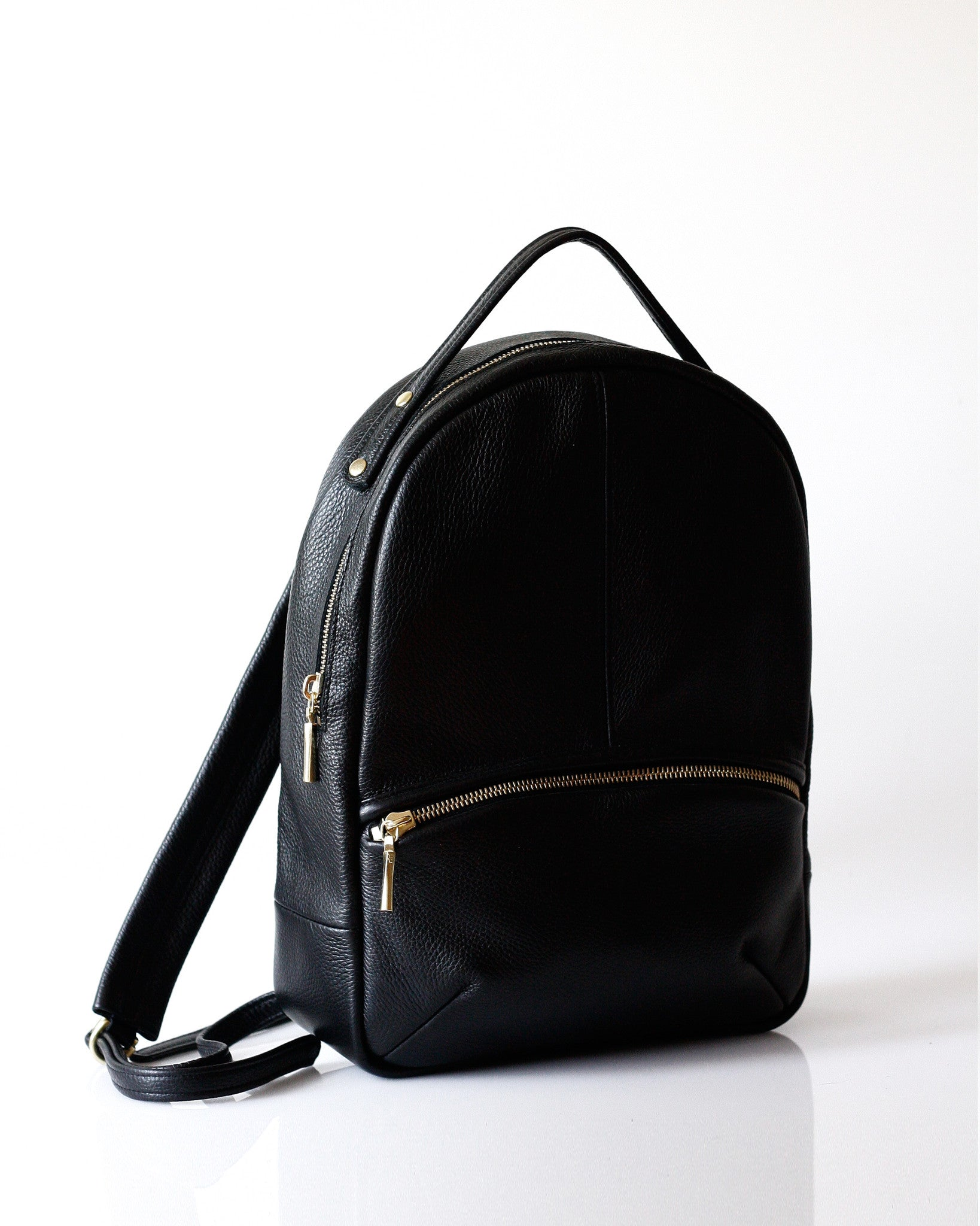 Baby Kanye Backpack - Opelle bag Permanent Collection - Opelle leather handbag handcrafted leather bag toronto Canada