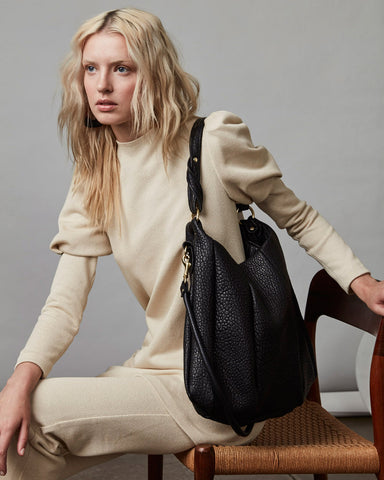 Lotus | Shrunken Lamb - Opelle bag FW18 - Opelle leather handbag handcrafted leather bag toronto Canada