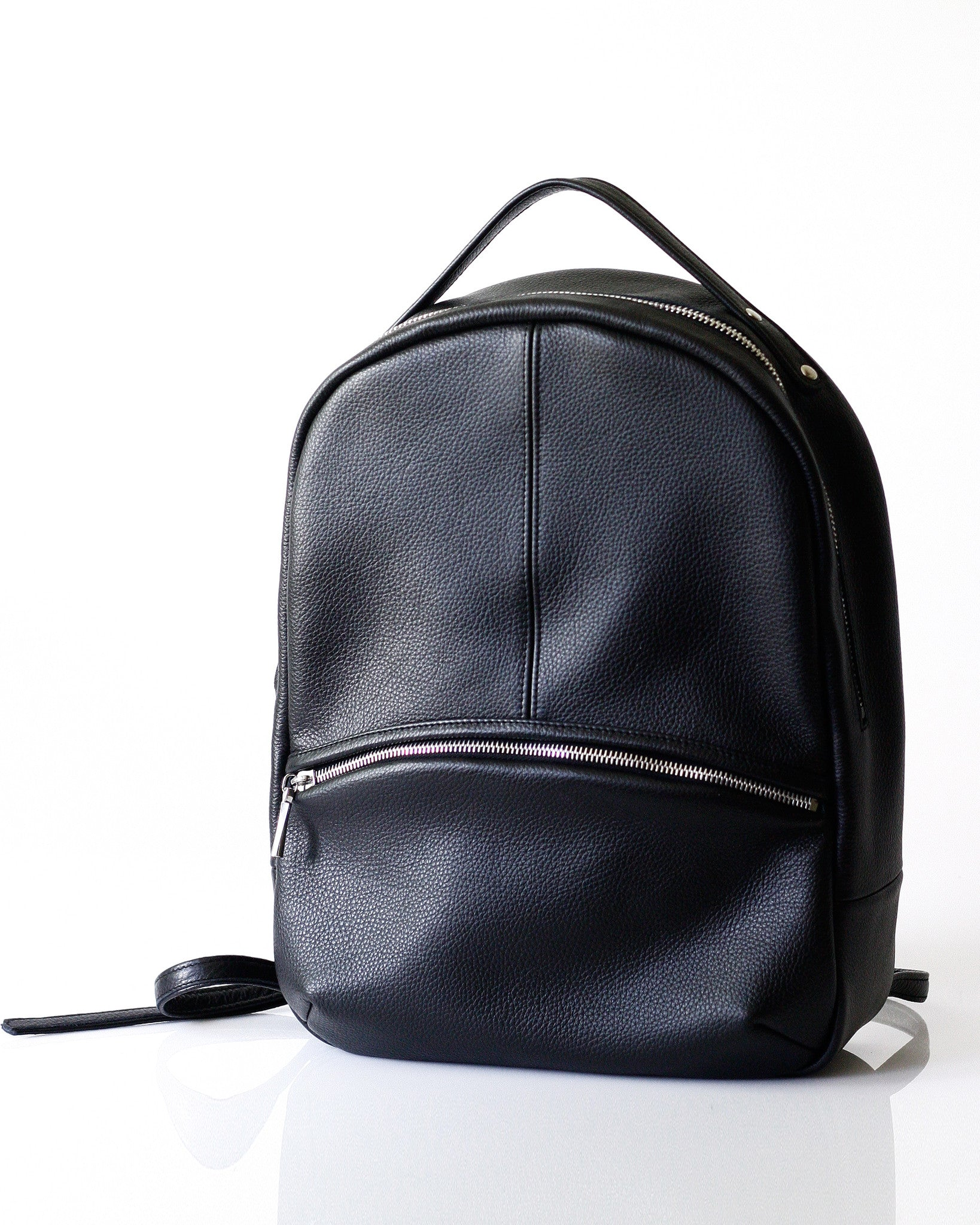 Kanye Backpack - Opelle bag Permanent Collection - Opelle leather handbag handcrafted leather bag toronto Canada