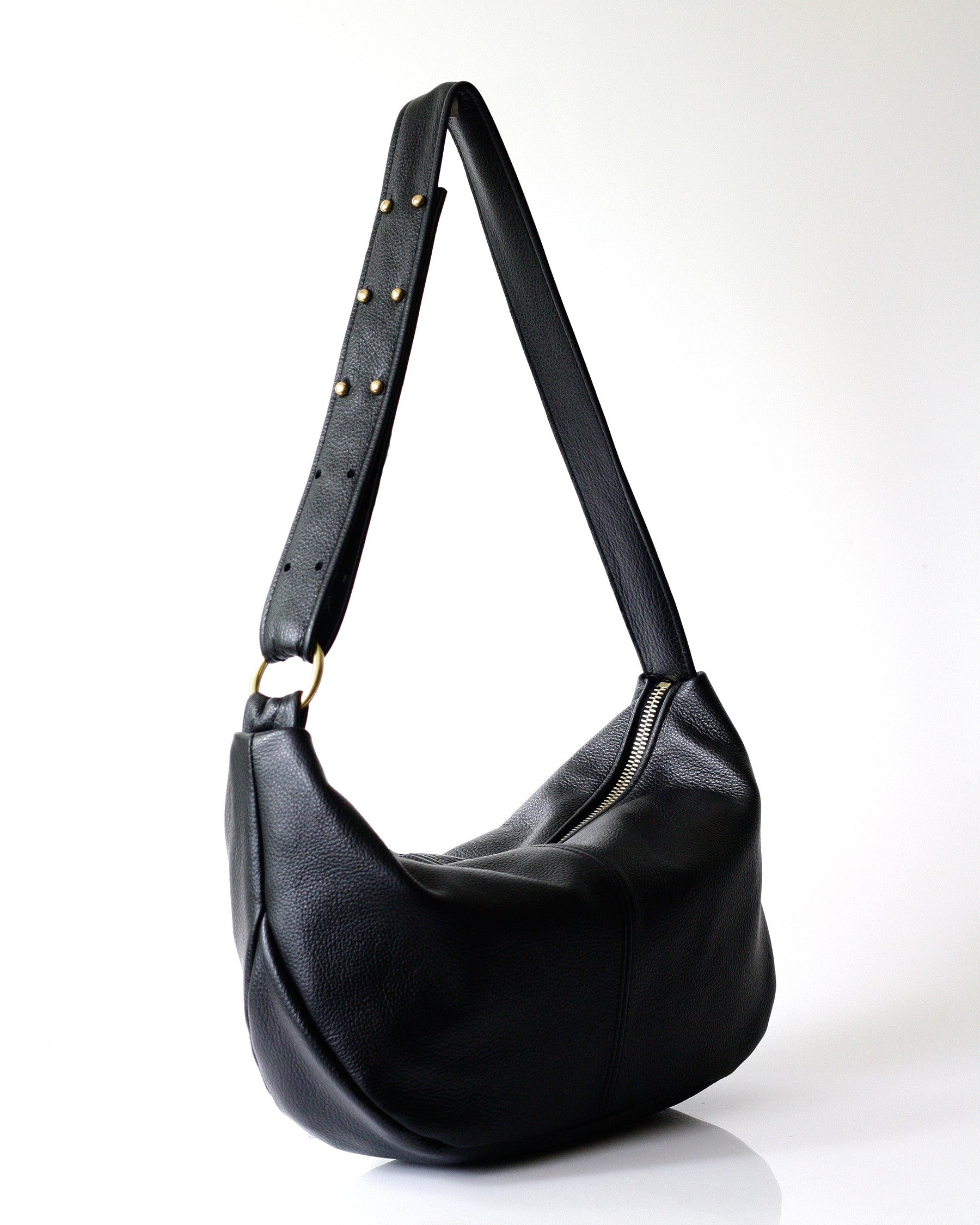 Roberta Sling - Opelle bag Permanent Collection - Opelle leather handbag handcrafted leather bag toronto Canada