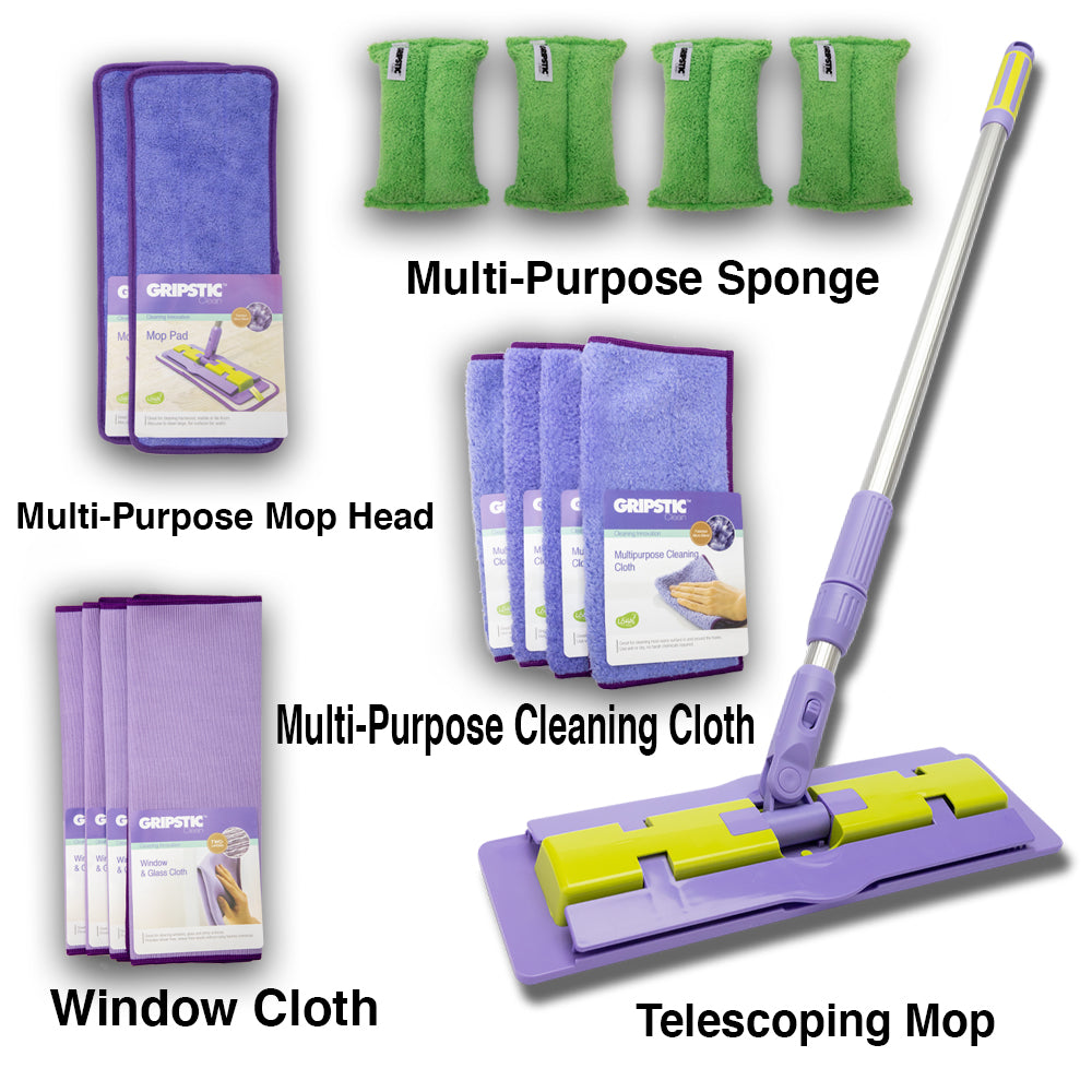 GRIPSTIC®️ Clean Complete Home Set