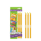 The Gripstic® Keeps Food Fresh 3pk Orange Sealing Rods