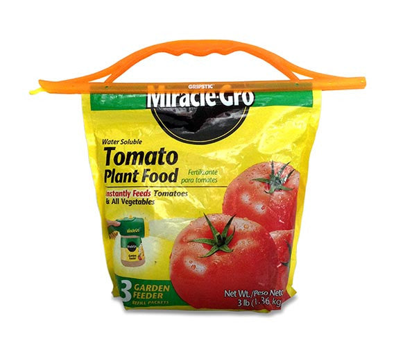 The Gripstic® Keeps Food Fresh Orange Handle Gardening Bags