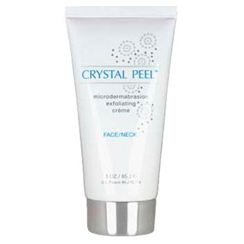 Crystal Peel Microdermabration Exfoliating Creme Face/Neck 3oz