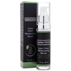 Ageless Derma Super Green Moisturizing Serum 1oz