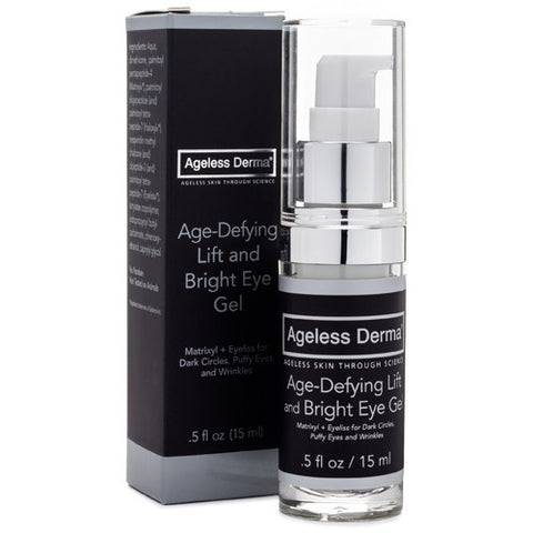 Ageless Derma Age-Defying Lift and Bright Eye Gel