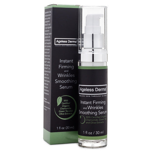 Ageless Derma Instant Firming and Wrinkles Smoothing Serum 1oz