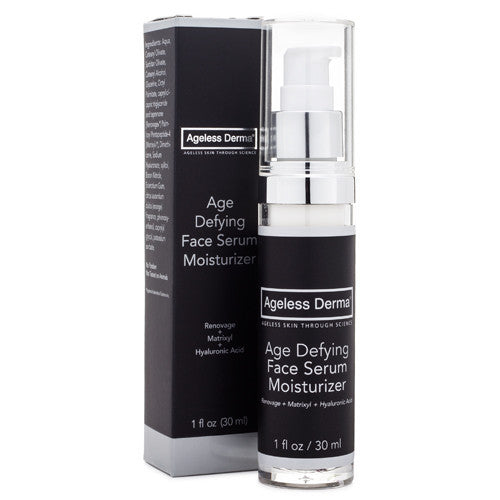 Ageless Derma Age Defying Face Serum Moisturizer 1oz
