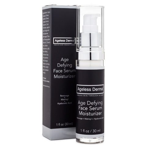 Ageless Derma Age Defying Face Serum Moisturizer
