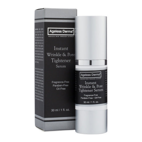 Ageless Derma Instant Wrinkle & Pore Tightener Serum 1oz