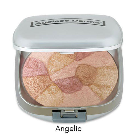 Ageless Derma Baked Mineral Blush Collage Of Colors