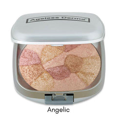 Ageless Derma Baked Mineral Blush Collage Of Colors - Angelic