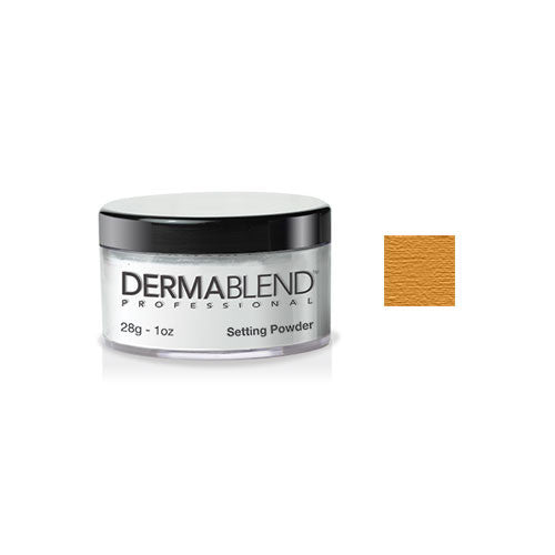 Dermablend Loose Setting Powder Warm Saffron 1oz