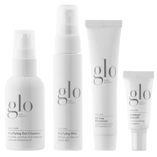 Glo Skin Beauty Oily Skin Set (4 Products)