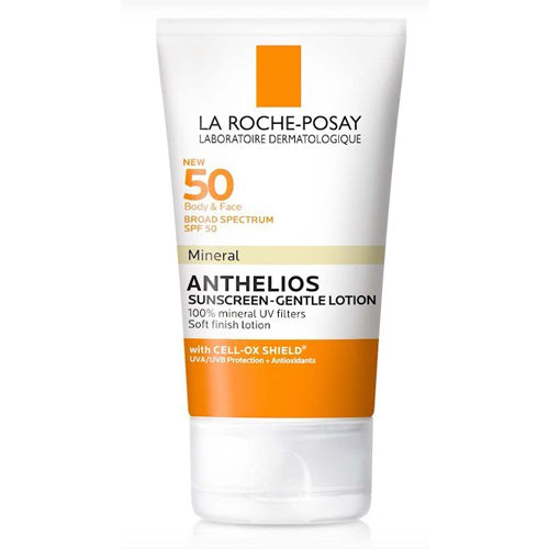 La Roche-Posay Anthelios 50 Mineral Sunscreen Gentle Lotion 4oz
