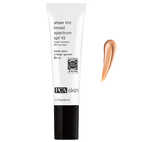 PCA Skin Sheer Tint Broad Spectrum SPF 45 (1.7oz)