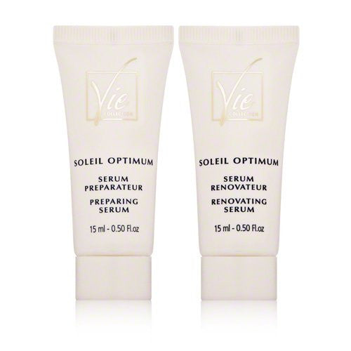 Vie Collection Soleil Optimum Before and After Sun Care Duo 2 x.5oz