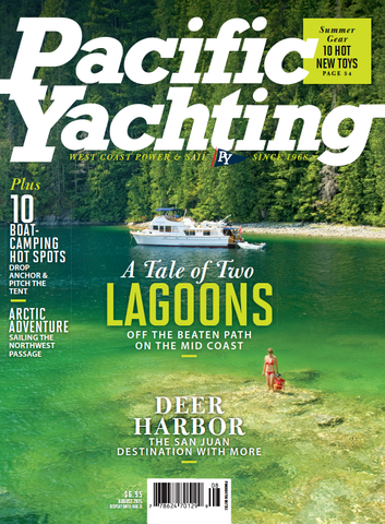Pacific Yachting August 2015 Issue
