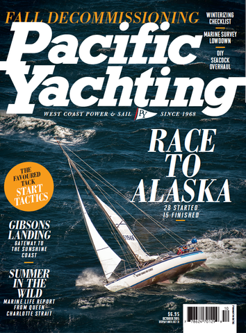 Pacific Yachting October 2015 Issue