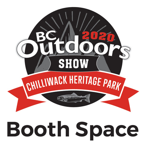 BC Outdoors Show 10'x10' Vendor Booth Space