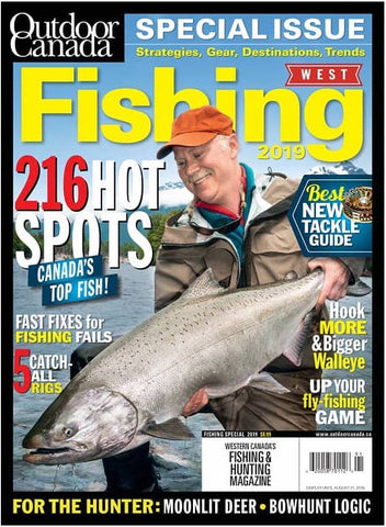 Outdoor Canada West Fishing Special 2019 Issue