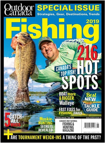 Outdoor Canada Fishing Special 2019 Issue