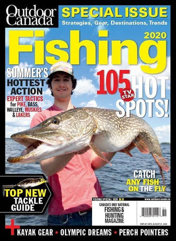Outdoor Canada Special Fishing 2020 Issue