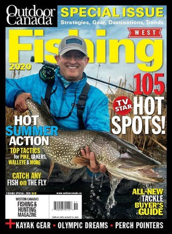 Outdoor Canada West Special Fishing 2020 Issue