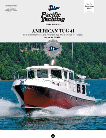 American Tug 41 [Tested in 2005]