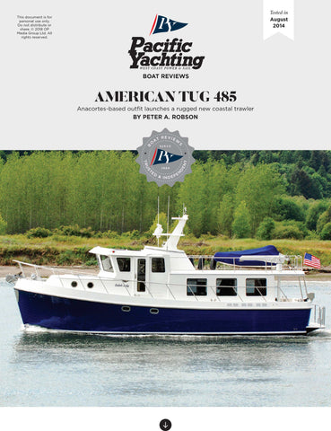 American Tug 485 [Tested in 2014]