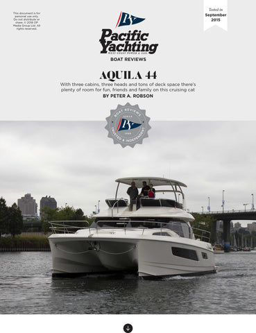 Aquila 44 [Tested in 2015]