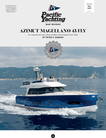 Azimut Magellano 43 Fly [Tested in 2015]