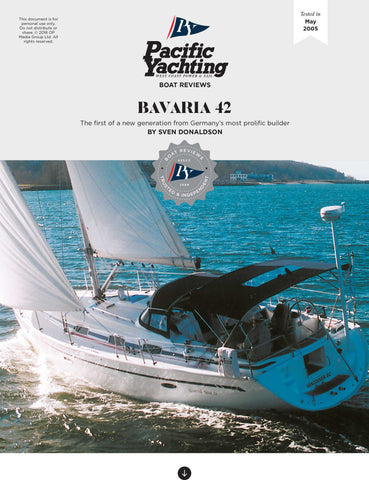 Bavaria 42 [Tested in 2005]