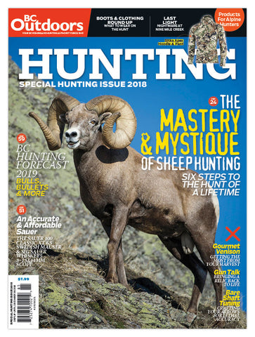 BC Outdoors Special Hunting 2018 Issue