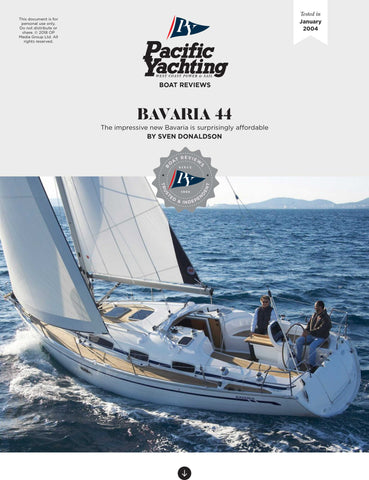 Bavaria 44 [Tested in 2004]