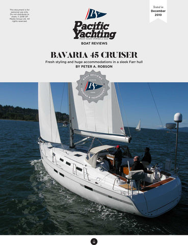 Bavaria 45 Cruiser [Tested in 2010]