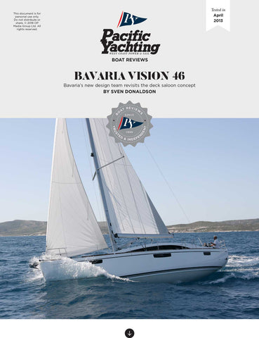 Bavaria Vision 46 [Tested in 2013]