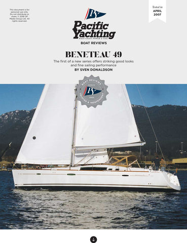Beneteau 49 [Tested in 2007]