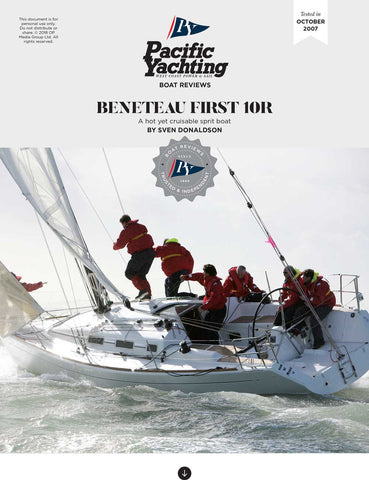 Beneteau First 10R [Tested in 2007]