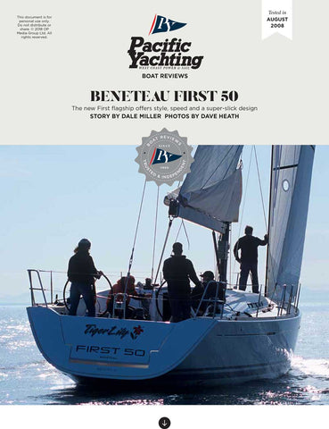 Beneteau First 50 [Tested in 2008]